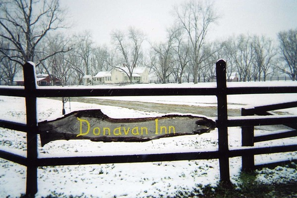 Donavan Inn snow of 09